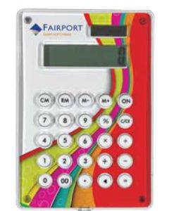 Solar Powered Digital Calculator (Full Color Digital)