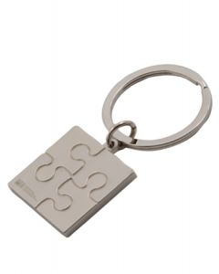Puzzle Metal Key Tag