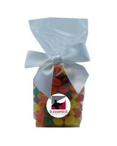 Clear Mug Stuffer Gift Bag with Jelly Beans