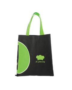 "Tote Bag Zipper Pocket (16""x15"") (Printed)"