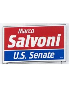 Political Campaign Kit (100 Signs/ 500 Bumper Stickers/1000 Lapel Stickers)