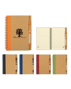 Eco Spiral Notebook & Pen