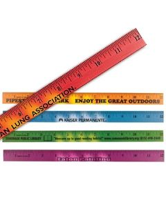 "12"" Mood Wood Ruler (Spot Color)"